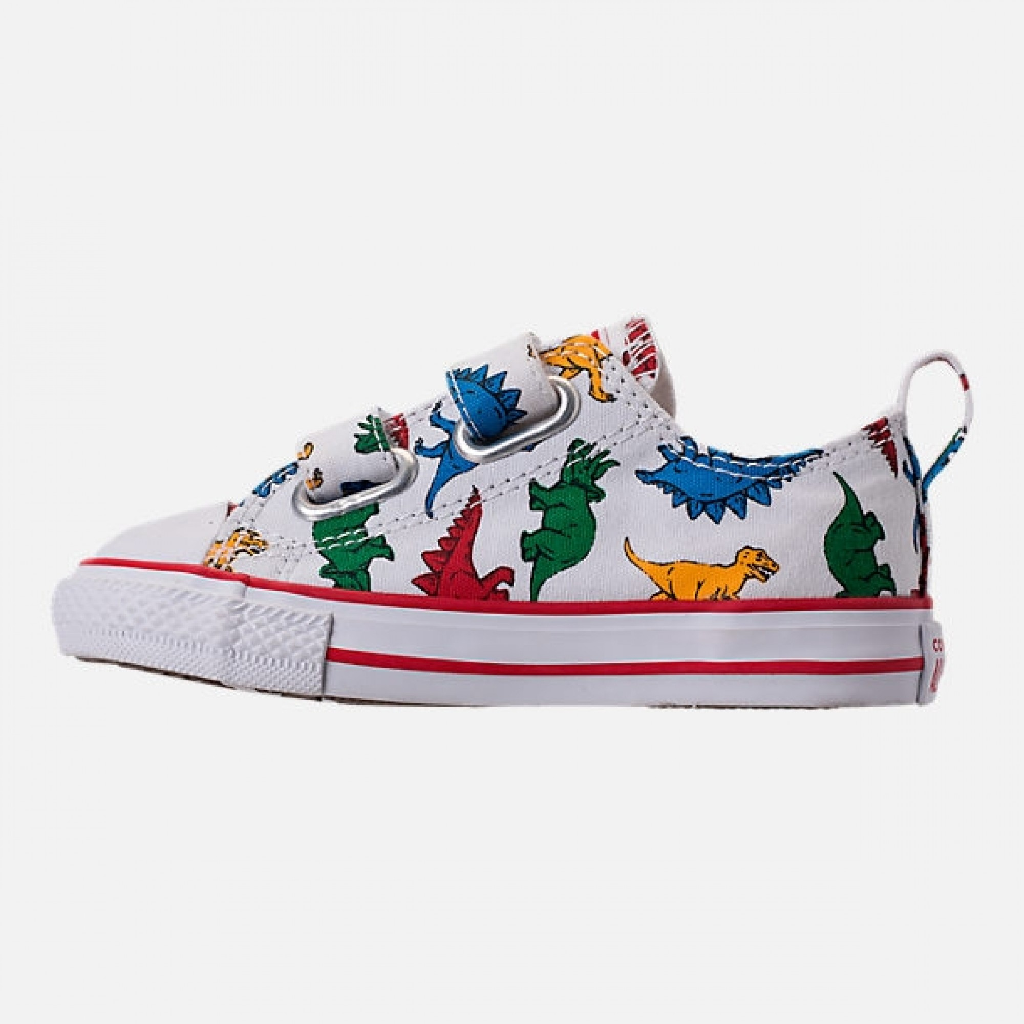 Venue Store CONVERSE Chuck Taylor All Star Dinoverse 2v Infant Shoe - White  Enamel Red Totally Blue Free Delivery Over  100 d4c688f504