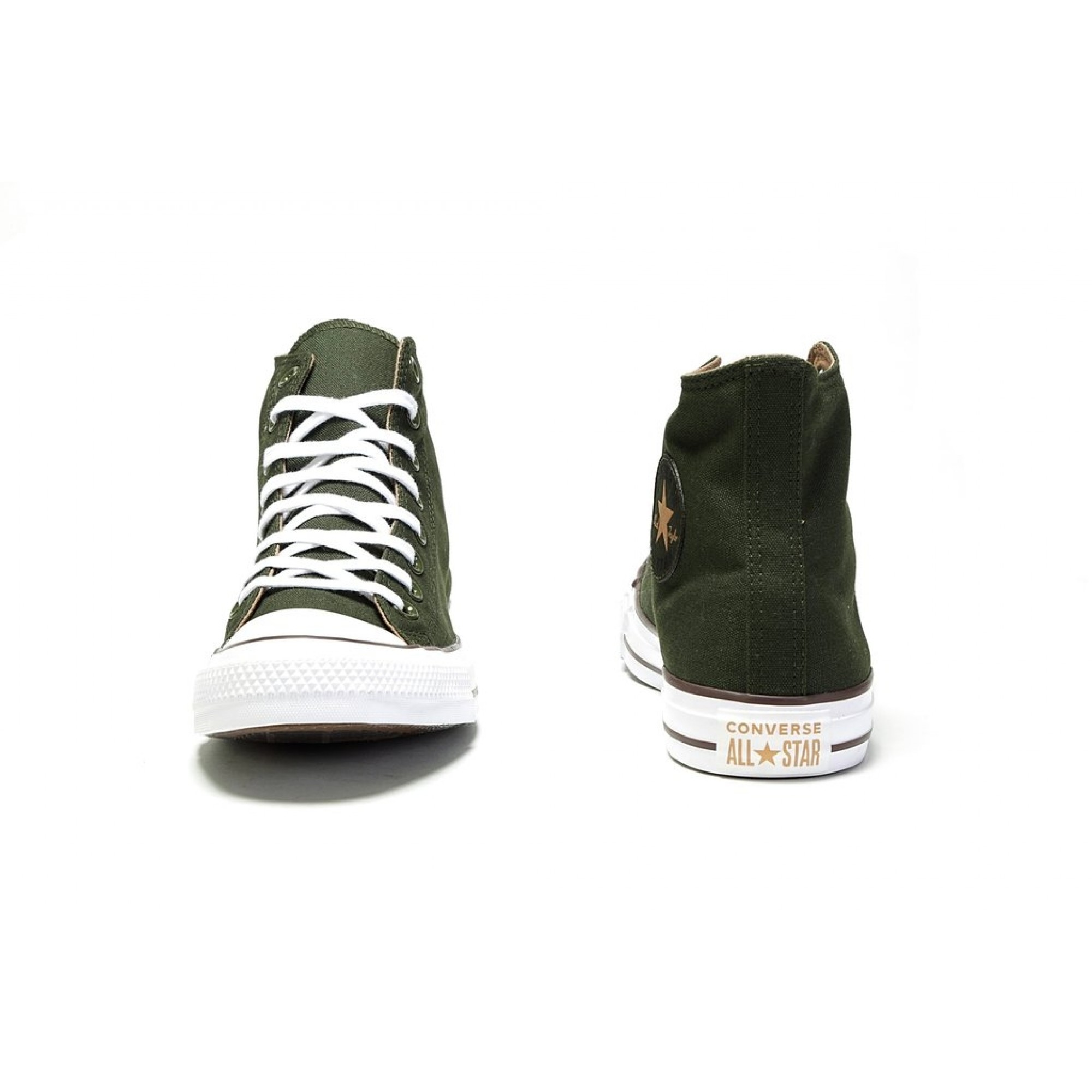 3f7579cc9a6504 Venue Store CONVERSE Chuck Taylor All Star Hi Shoe - Utility Green Teak White  Free Delivery Over  100