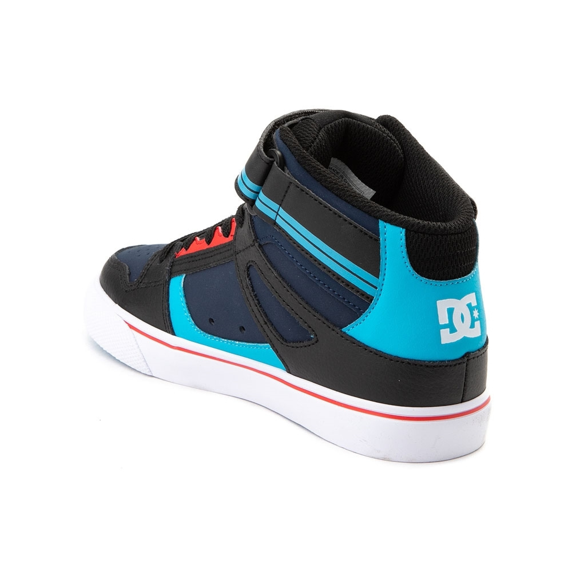 aabc75898c Venue Store DC Pure High Top EV Youth Shoe - Blue/Black/Red Free ...