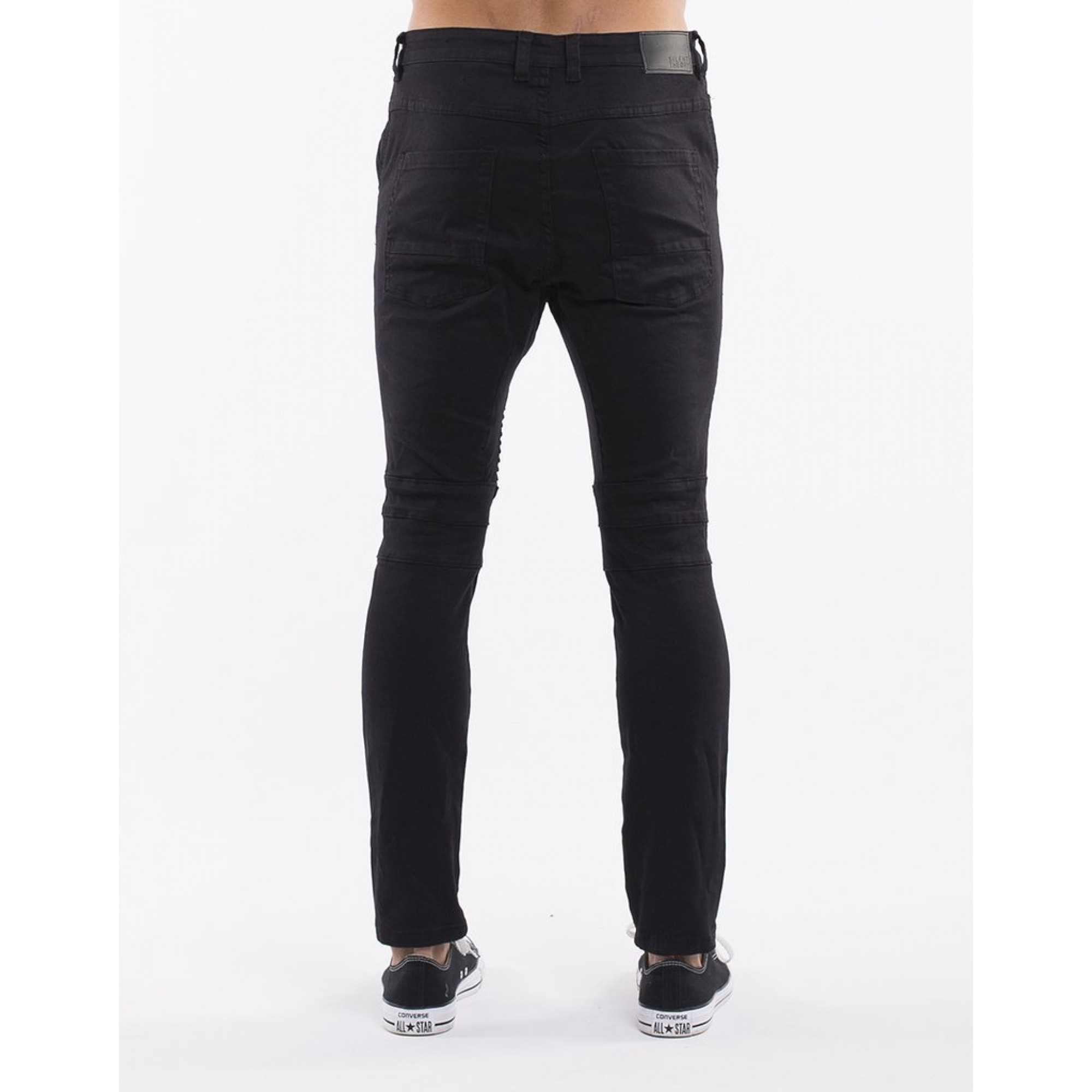 ca4c2c67cfd Venue Store SILENT THEORY Outlaw Mens Pant - Wrecked Black Free Delivery  Over $100