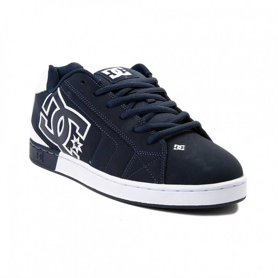 DC Net Se Mens Shoe - Navy/White
