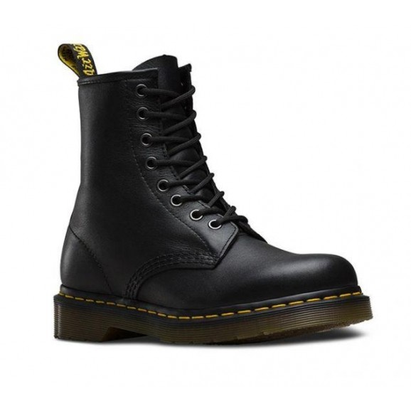 DR MARTENS 1460 Leather Boot - Black Nappa