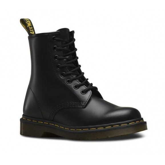 DR MARTENS 1460 Leather Boot - Black Smooth