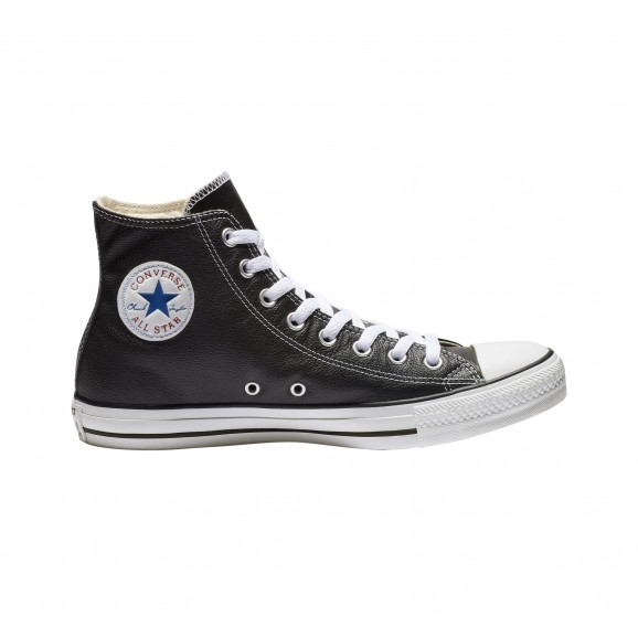 CONVERSE Chuck Taylor All Star Leather Hi Shoe - Black