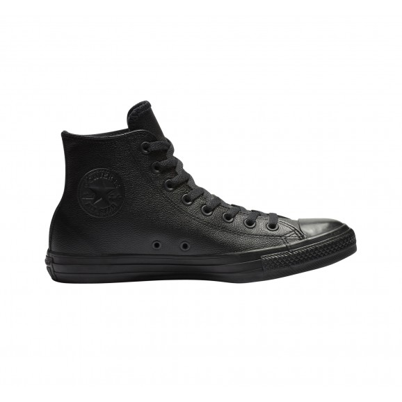 CONVERSE CT Leather Hi Shoe - Black Mono