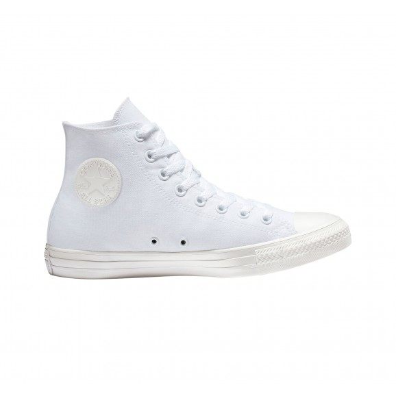 CONVERSE Chuck Taylor All Star Hi Shoe - White Mono