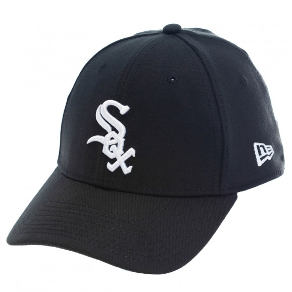 NEW ERA Chicago White Sox 3930 Stretch Fit Cap - Black
