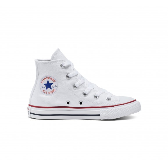 CONVERSE Chuck Taylor All Star Youth Hi Shoe - White
