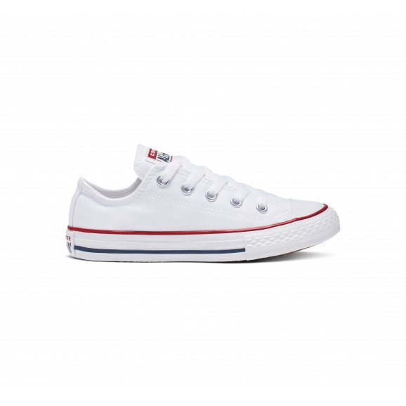 CONVERSE Chuck Taylor All Star Youth Low Shoe - White