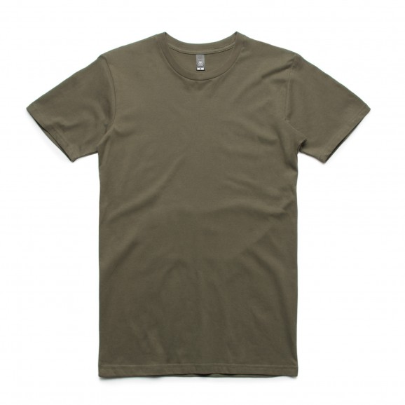 AS COLOUR Staple Mens Tee - Army Green
