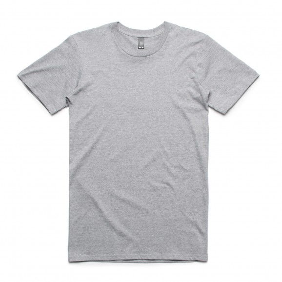 AS COLOUR Staple Mens Tee - Grey Marle