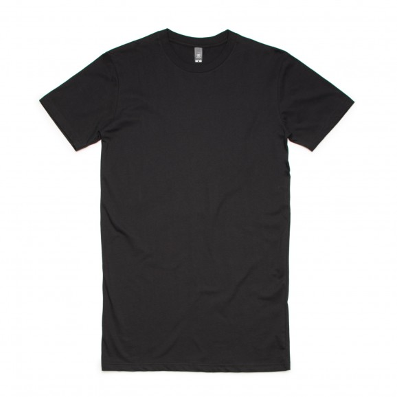AS COLOUR Tall Mens Tee - Black