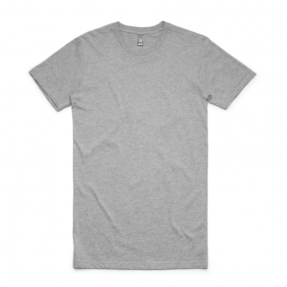 AS COLOUR Tall Mens Tee - Grey Marle
