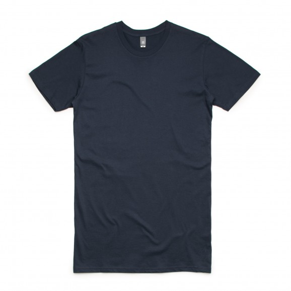 AS COLOUR Tall Mens Tee - Navy