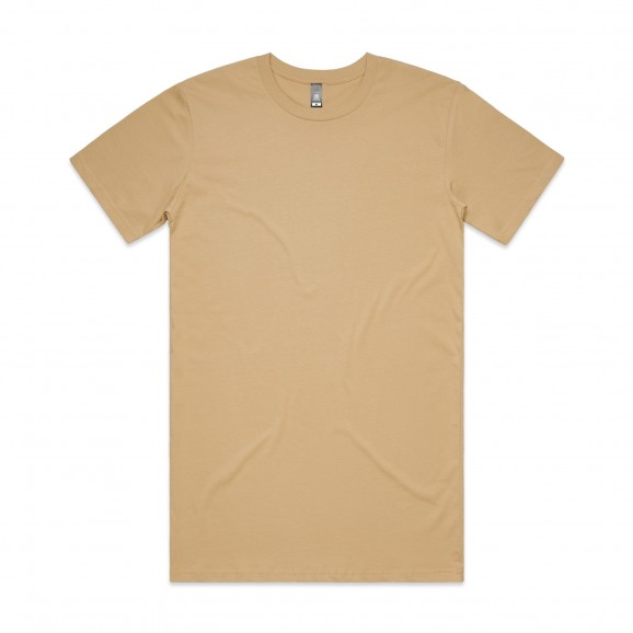 AS COLOUR Tall Mens Tee - Tan