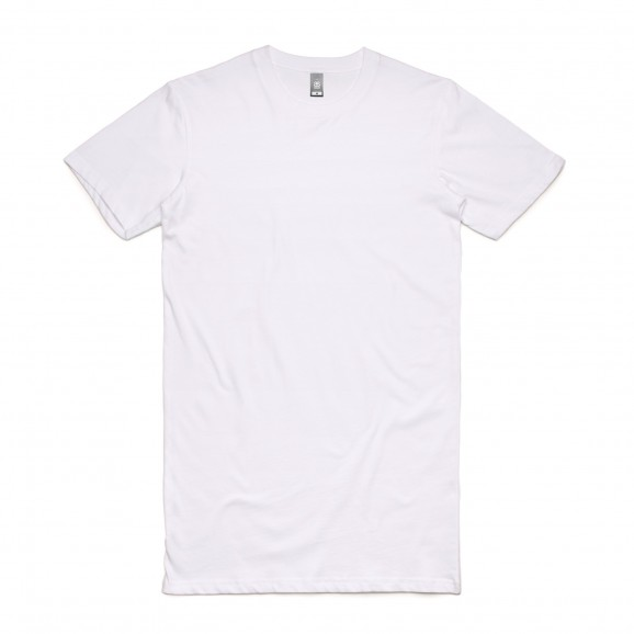 AS COLOUR Tall Mens Tee - White