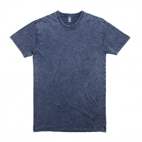 AS COLOUR Staple Mens Tee - Stone Wash Blue