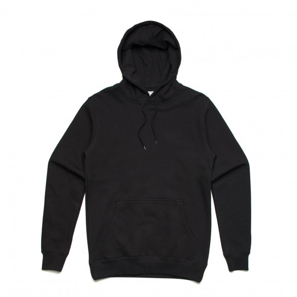 AS COLOUR Stencil Unisex Hoodie - Black