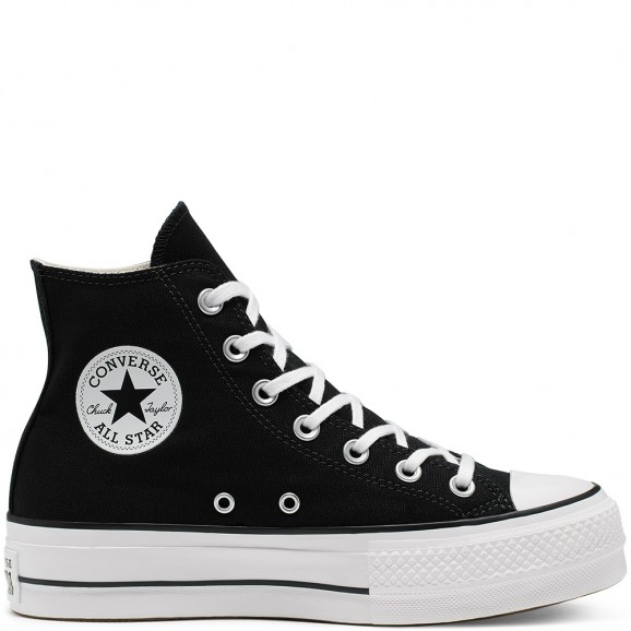 CONVERSE Chuck Taylor Lift Womens Hi Shoe - Black