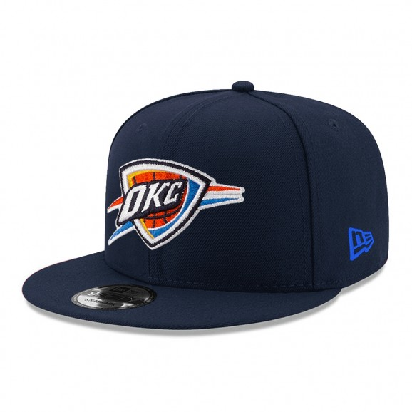 NEW ERA Oklahoma City Thunder Youth 950 Snapback Cap - Navy