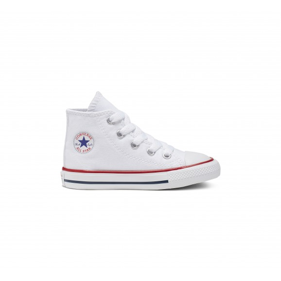 CONVERSE Chuck Taylor All Star Infant Hi Shoe - White