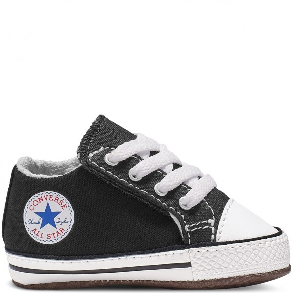 CONVERSE Chuck Taylor All Star Cribster Baby Mid Shoe - Black