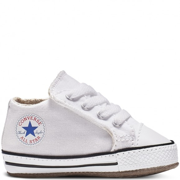 CONVERSE Chuck Taylor All Star Cribster Baby Mid Shoe - White