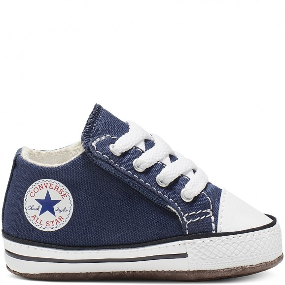 CONVERSE Chuck Taylor All Star Cribster Baby Mid Shoe - Navy