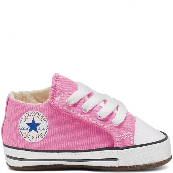 CONVERSE Chuck Taylor All Star Cribster Baby Mid Shoe - Pink