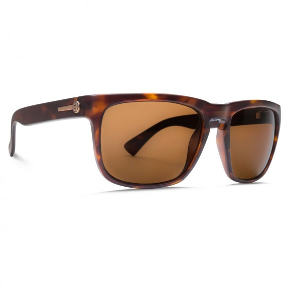 ELECTRIC Knoxville Sunglasses -  Matte Tort/OHM Bronze