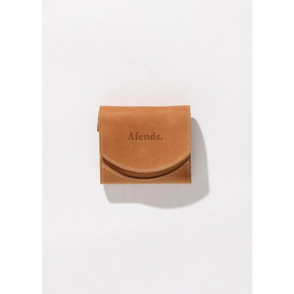 AFENDS Good Life Leather Wallet - Tan