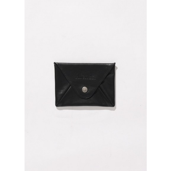AFENDS Holdall Leather Pouch Wallet - Black