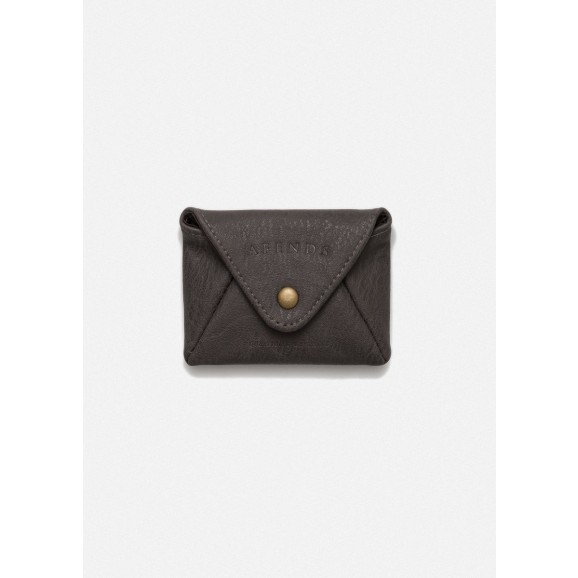 AFENDS Holdall Pouch Wallet - Dark Brown