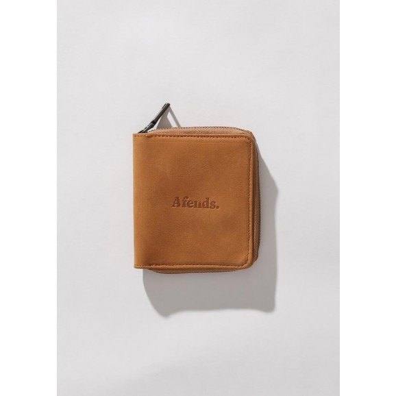 AFENDS Stash Leather Wallet - Tan