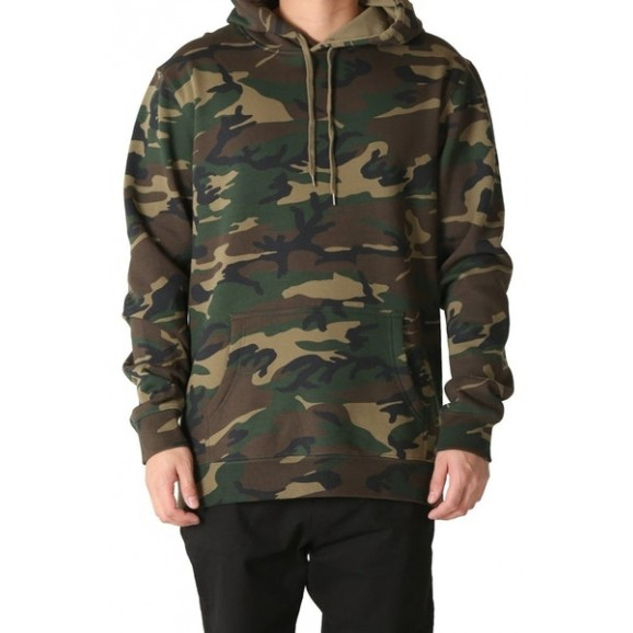 AS COLOUR Stencil Unisex Hoodie - Camo