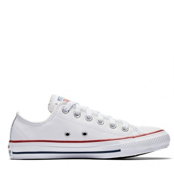 CONVERSE Chuck Taylor All Star Leather Low Shoe - White