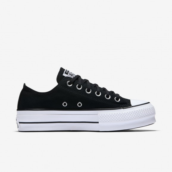 CONVERSE Chuck Taylor Lift Womens Low Shoe - Black