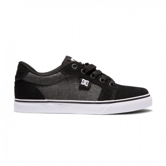 DC Anvil Youth Low Shoe - Chambray