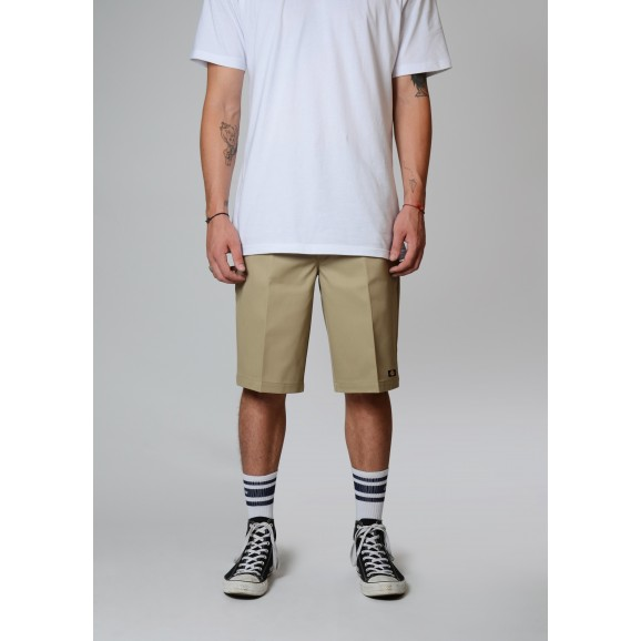 DICKIES 131 Slim Straight Fit Shorts - Khaki