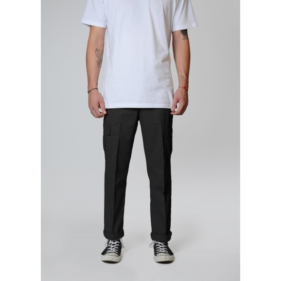 DICKIES 594 Slim Straight Cargo Pants - Black