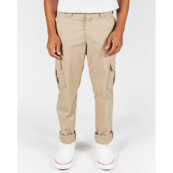 DICKIES 594 Slim Straight Cargo Pants - Desert Sand