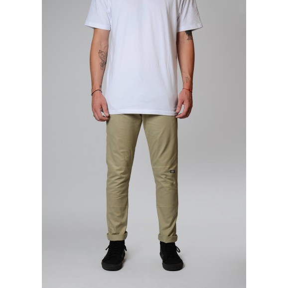 DICKIES 811 Skinny Straight Fit Double Knee Pants - Desert Sand