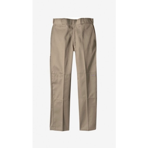 DICKIES 85283 Loose Fit Double Knee Pants - Khaki