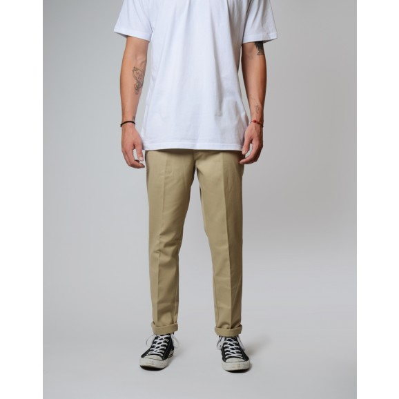 DICKIES 872 Slim Fit Pants - Khaki