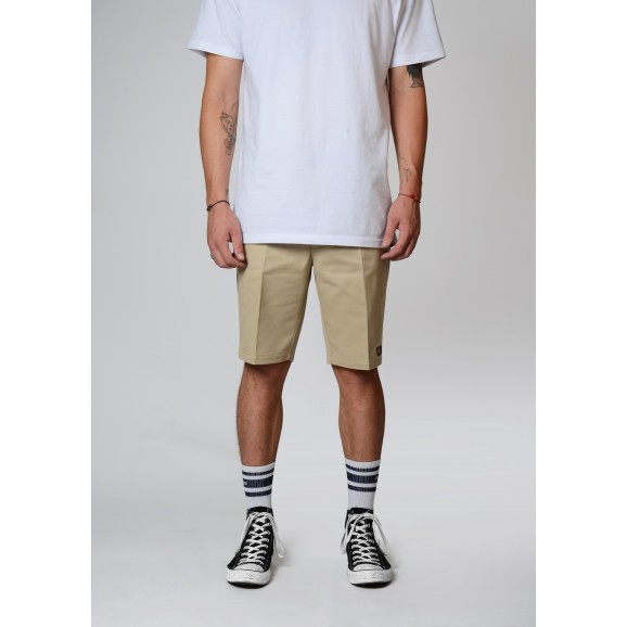 DICKIES 872 Slim Fit Shorts - Khaki