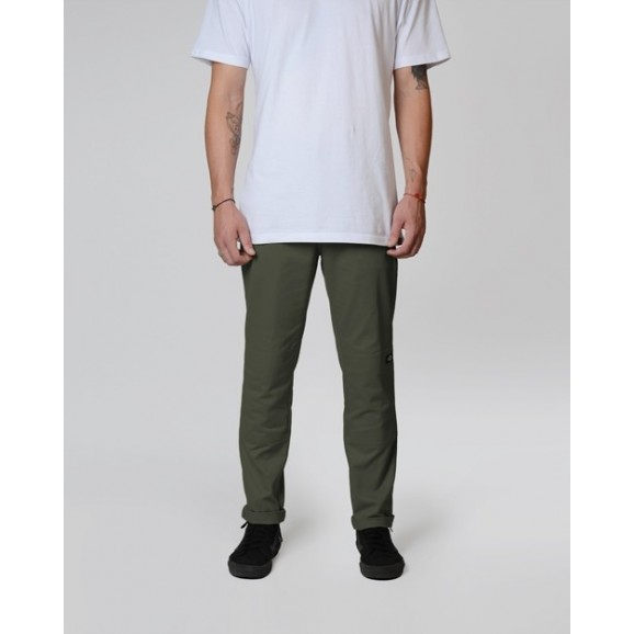 DICKIES 918 Slim Fit Double Knee Pants - Army Green