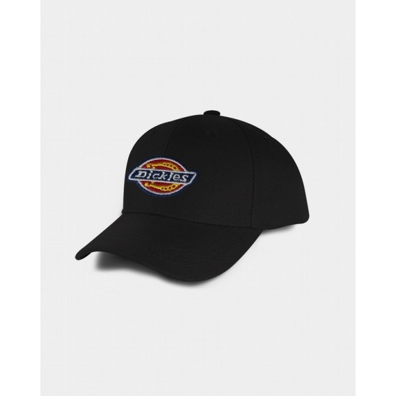 DICKIES H.S Fort Worth Mens A-Frame Snapback Cap - Black