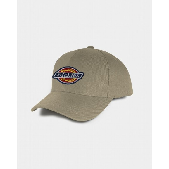 DICKIES H.S Fort Worth Mens A-Frame Snapback Cap - Khaki