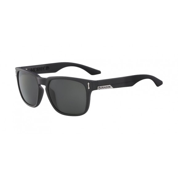 DRAGON Monarch Polarised Sunglasses - Jet/LL Smoke