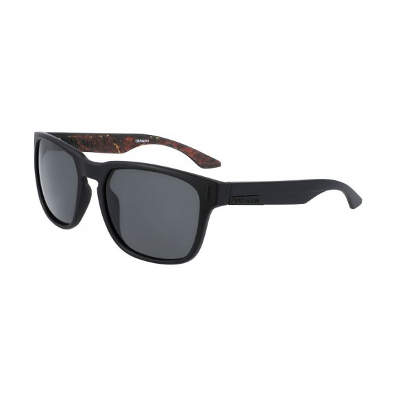 DRAGON Monarch XL Sunglasses - Matte Black/Inerno/LL Smoke